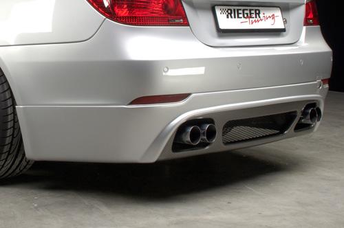 BMW 5 E60 spoiler pod zadní nárazník