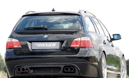 BMW 5 E61 spoiler pod originální zadní nárazník