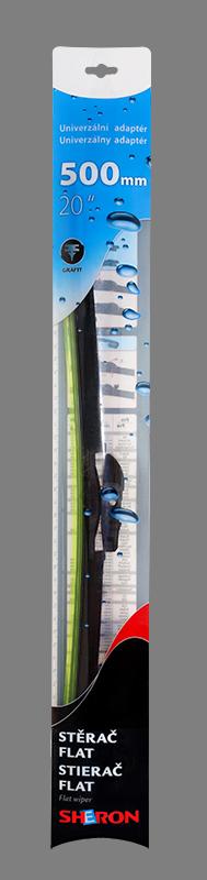 Stěrač flat 500 mm