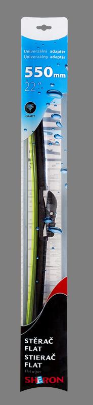 Stěrač flat 550 mm