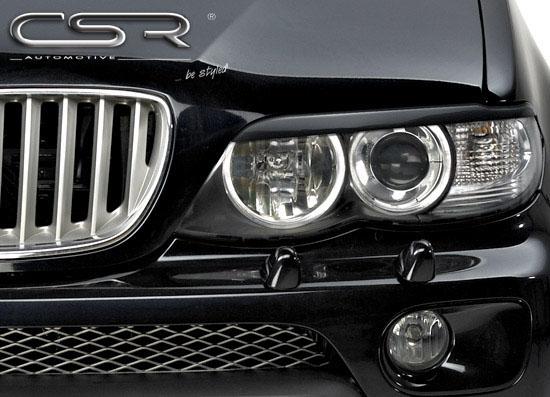 BMW X5 E53 mračítka předních světlometů