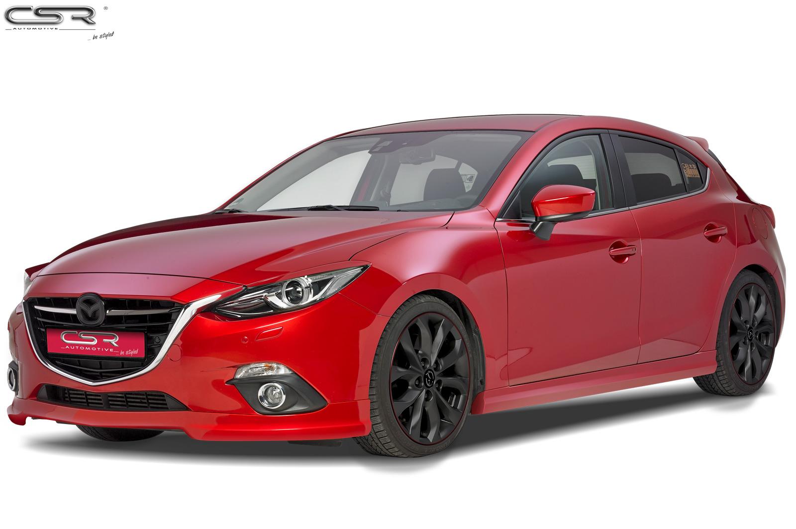 Mazda 3 spoiler pod originální přední nárazník