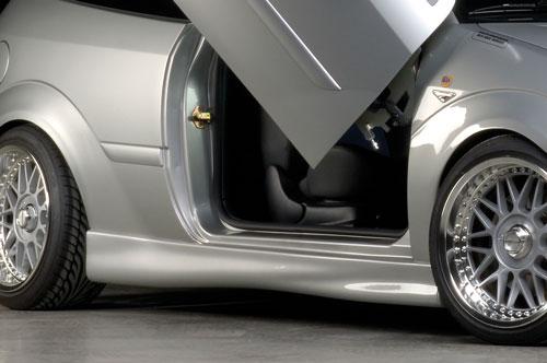 Ford Focus 5 dveř. nástavce bočních prahů
