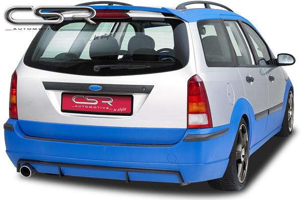 Ford Focus kombi spoiler pod originální zadní nárazník