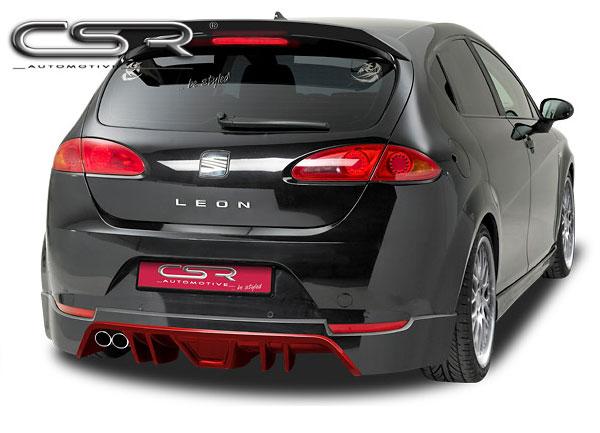 Seat Leon 1P spoiler pod originální zadní nárazník