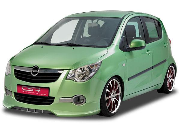Opel Agila spoiler pod originální přední nárazník