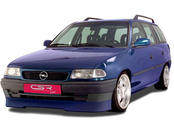 Opel Astra F spoiler pod originální přední nárazník