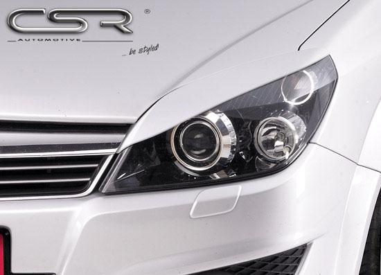 Opel Astra H mračítka předních světlometů