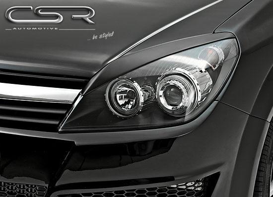 Opel Astra H mračítka předních světlometů (užší provedení)