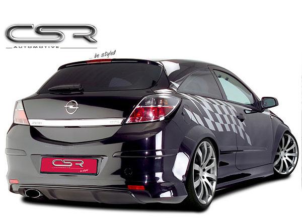 Opel Astra H GTC spoiler pod originální zadní nárazník