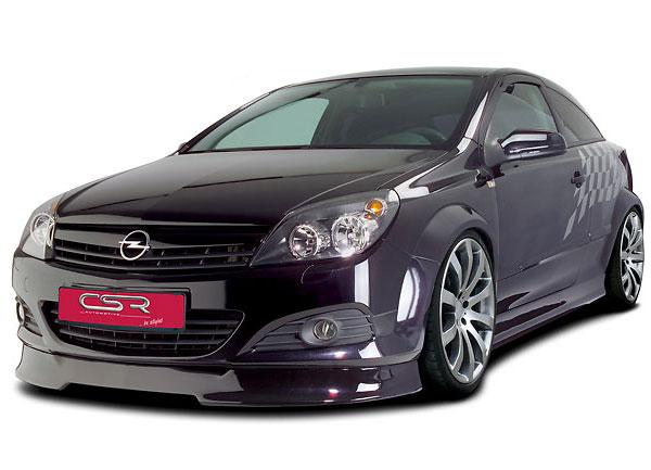 Opel Astra H facelift spoiler pod originální přední nárazník