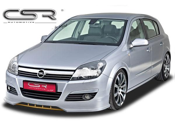 Opel Astra H spoiler pod originální přední nárazník