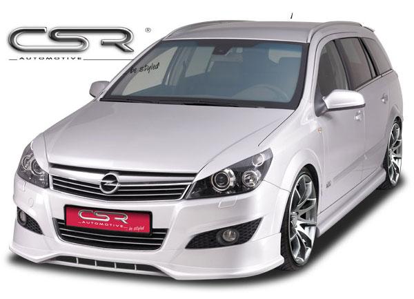 Opel Astra H facelift spoiler pod přední nárazník