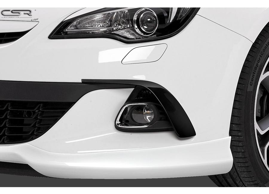 Opel Astra J sání vzduchu na nárazník