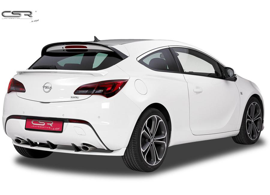 Opel Astra GTC spoiler pod originální zadní nárazník