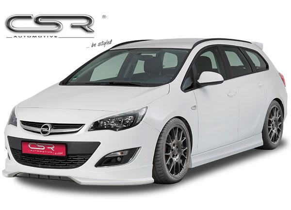 Opel Astra J spoiler pod originální přední nárazník