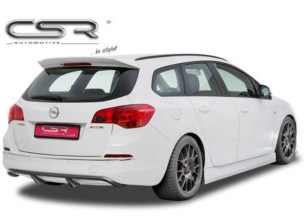 Opel Astra J spoiler pod originální zadní nárazník