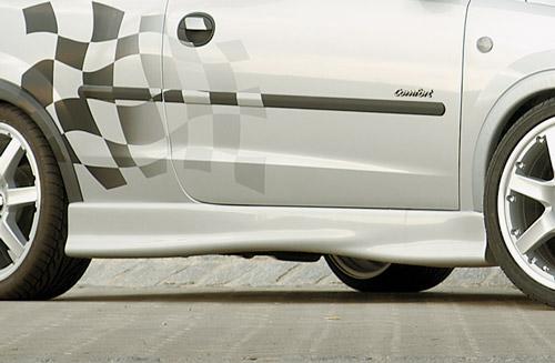 Opel Corsa C nástavce bočních prahů