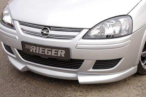 Opel Corsa C facelift spoiler pod přední nárazník