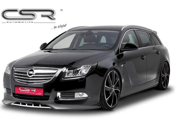 Opel Insignia A spoiler pod originální přední nárazník