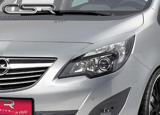 Opel Meriva mračítka předních světlometů