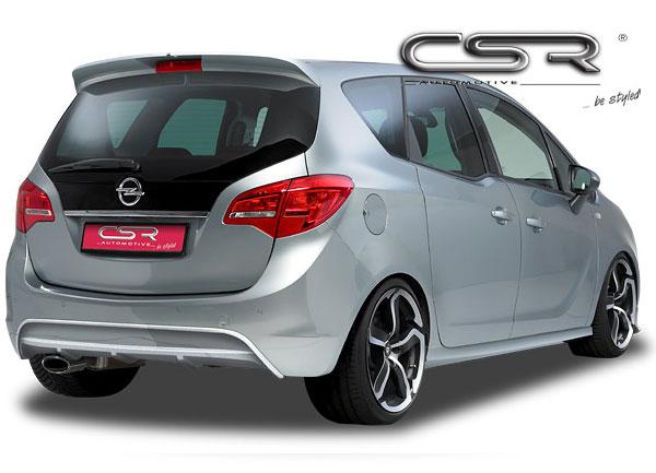 Opel Meriva spoiler pod originální zadní nárazník