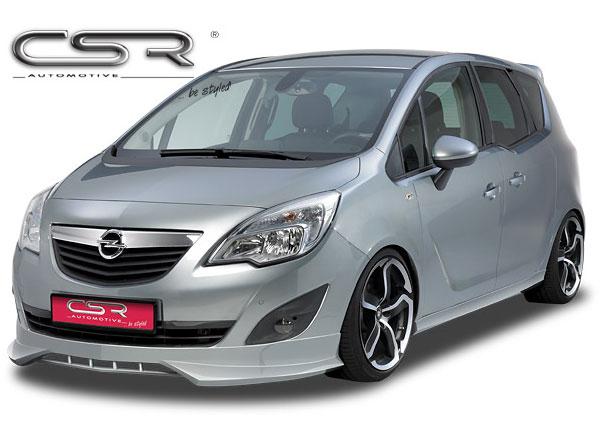Opel Meriva spoiler pod originální přední nárazník
