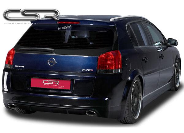 Opel Signum spoiler pod originální zadní nárazník