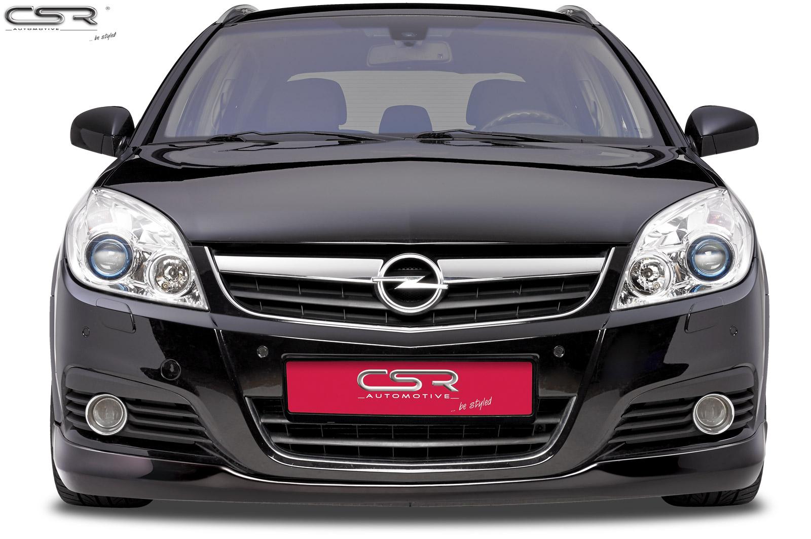 Opel Signum spoiler pod přední nárazník design OPC