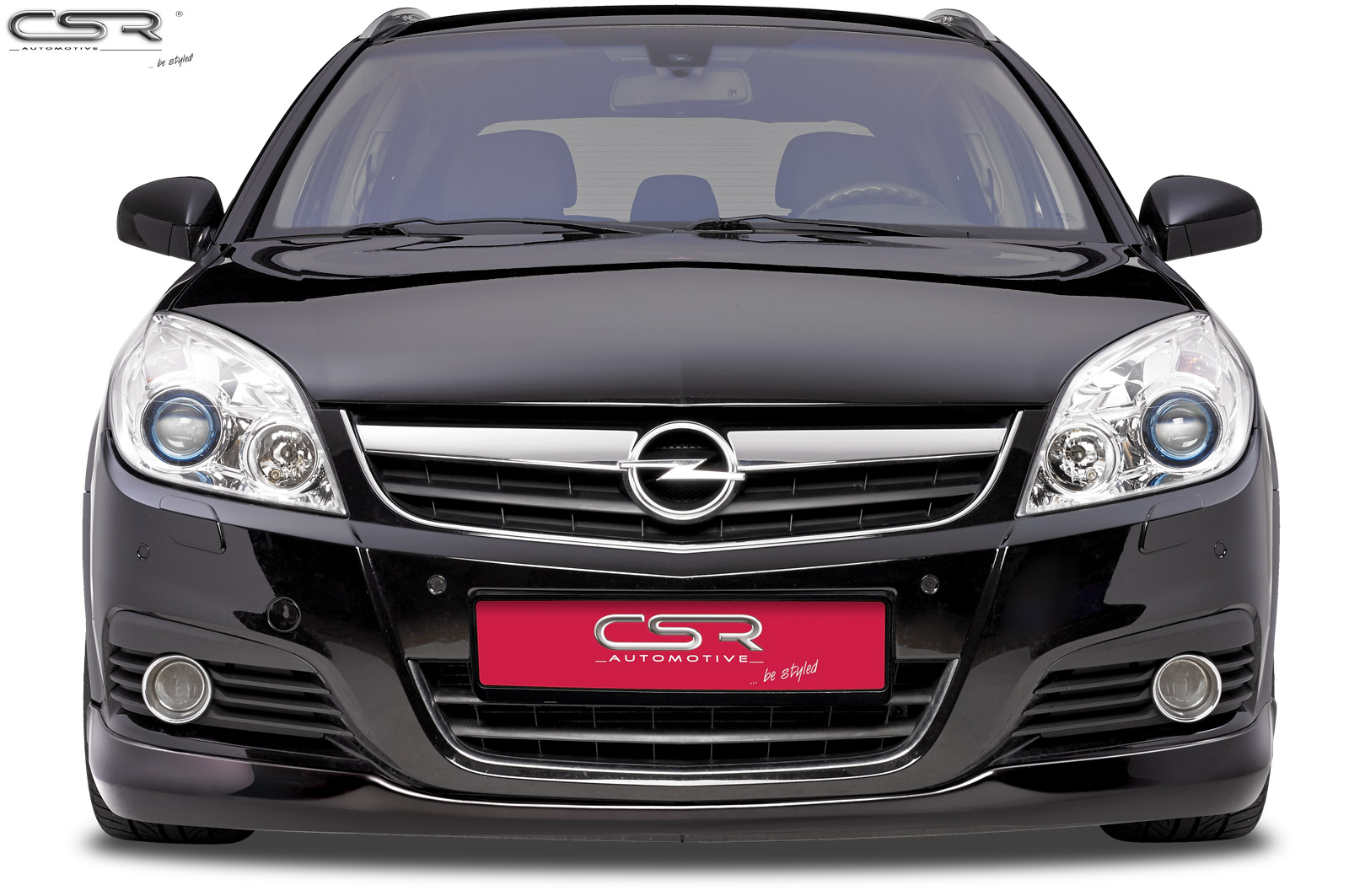 Opel Vectra C spoiler pod přední nárazník design OPC