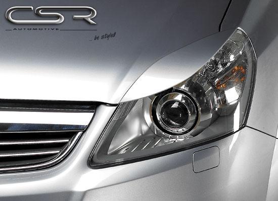 Opel Zafira B mračítka předních světlometů