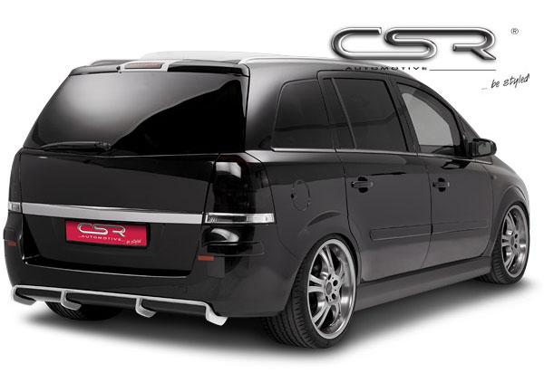 Opel Zafira B spoiler pod originální zadní nárazník