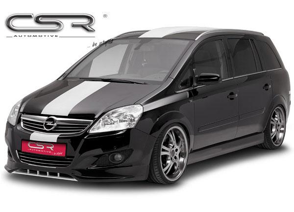 Opel Zafira B spoiler pod originální přední nárazník