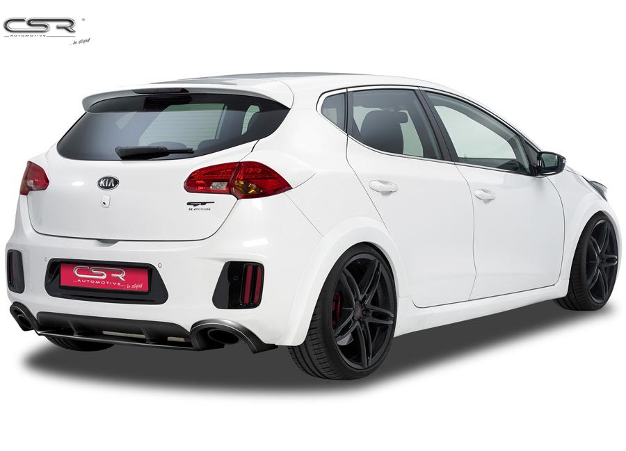 Kia Cee'd GT - Pro Cee'd GT spoiler pod originální zadní nárazník