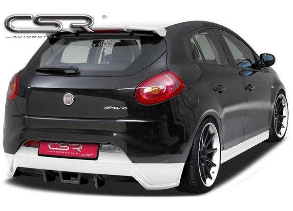 Fiat Bravo spoiler pod originální zadní nárazník