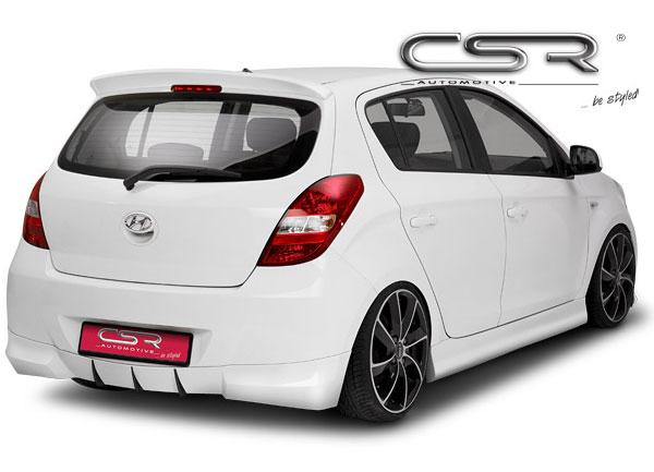 Hyundai I20 spoiler pod originální zadní nárazník