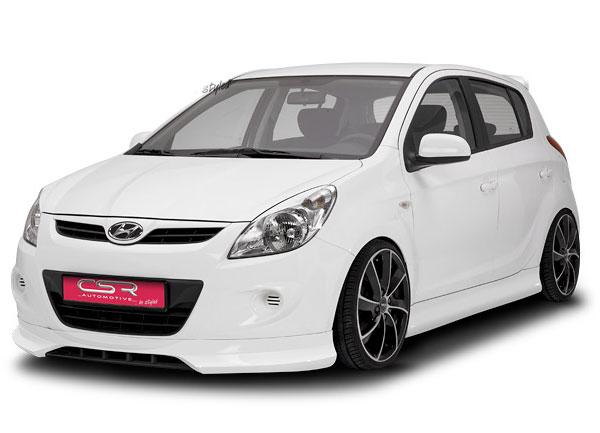 Hyundai I20 spoiler pod originální přední nárazník