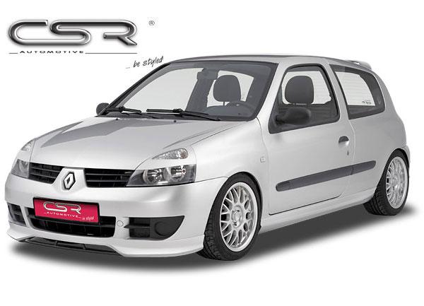 Renault Clio 2 spoiler pod originální přední nárazník