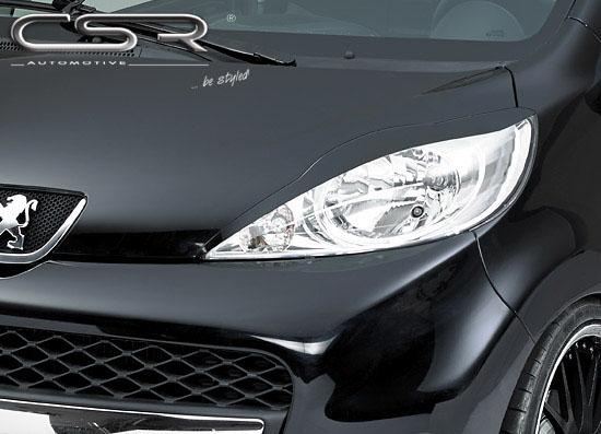 Peugeot 107 mračítka předních světlometů