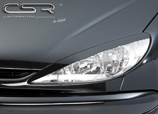 Peugeot 206 facelift mračítka předních světlometů