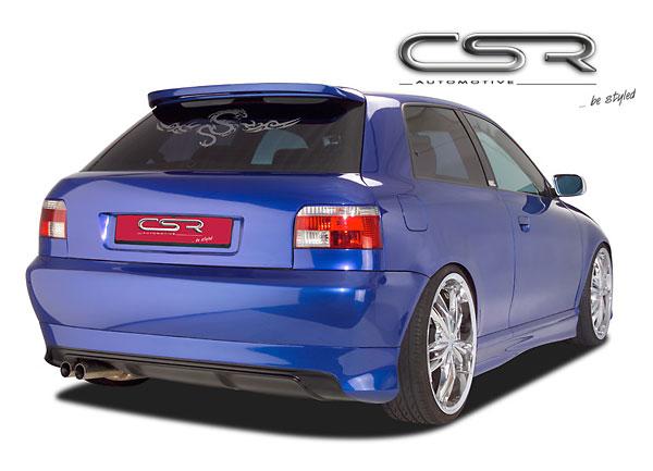 Audi A3 8L spoiler pod originální zadní nárazník