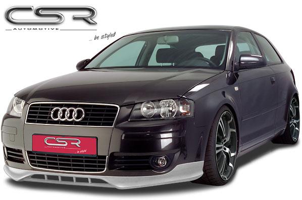 Audi A3 8P SF Line spoiler pod originální přední nárazník (třídveřový model)
