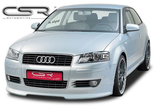 Audi A3 8P spoiler pod originální přední nárazník (třídveřový model)