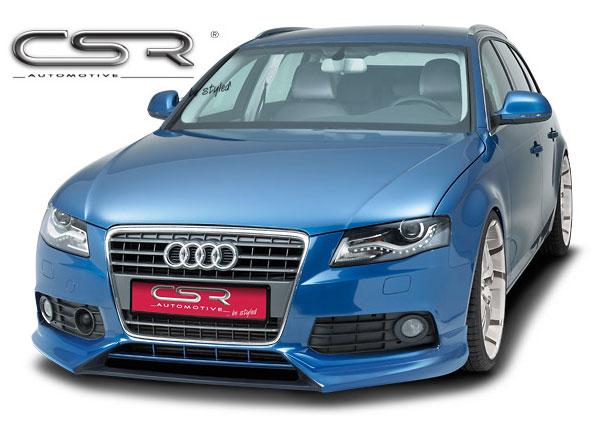 Audi A4 B8 spoiler pod originální přední nárazník