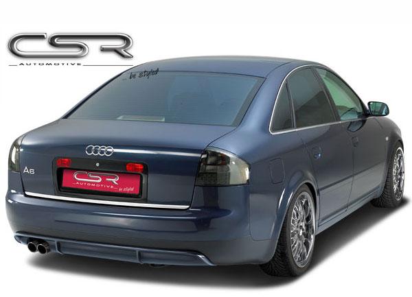 Audi A6 4B spoiler pod originální zadní nárazník