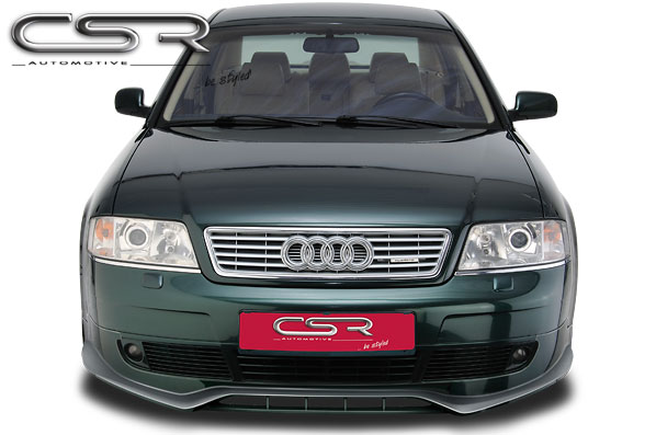 Audi A6 4B spoiler pod originální přední nárazník (design SF-Line)