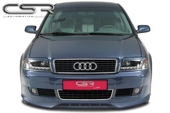 Audi A6 4B Facelift spoiler pod originální přední nárazník (design SF-Line)