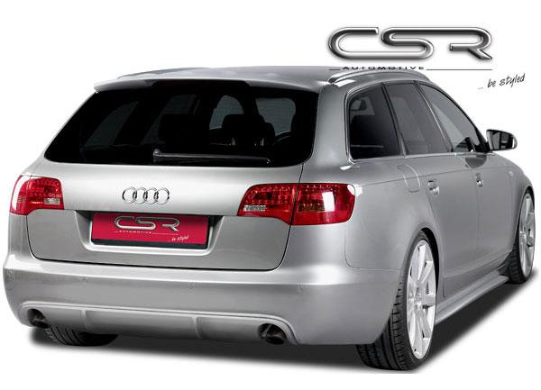 Audi A6 4F Avant spoiler pod originální zadní nárazník