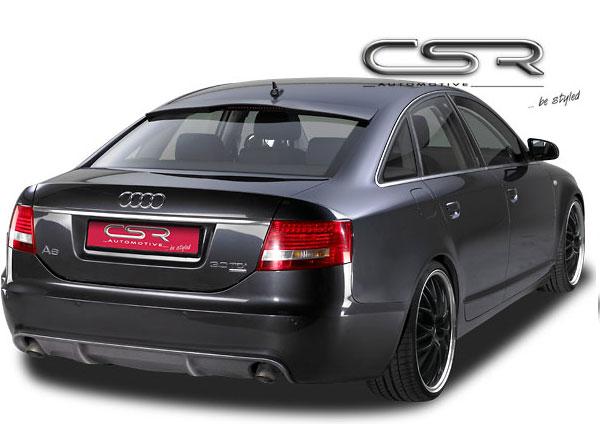 Audi A6 4F spoiler pod originální zadní nárazník
