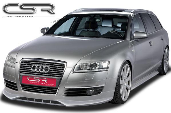 Audi A6 4F spoiler pod originální přední nárazník (design SF-Line)